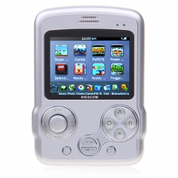 Riescom Game Console 2.8 inch (Silver)